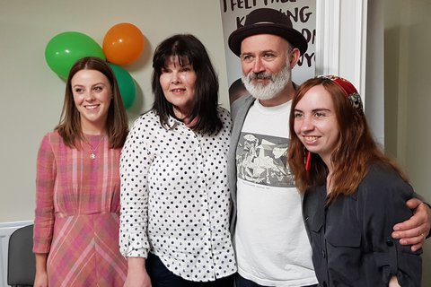 Tommy Tiernan of Derry Girls opens new Newry branch of Samaritans