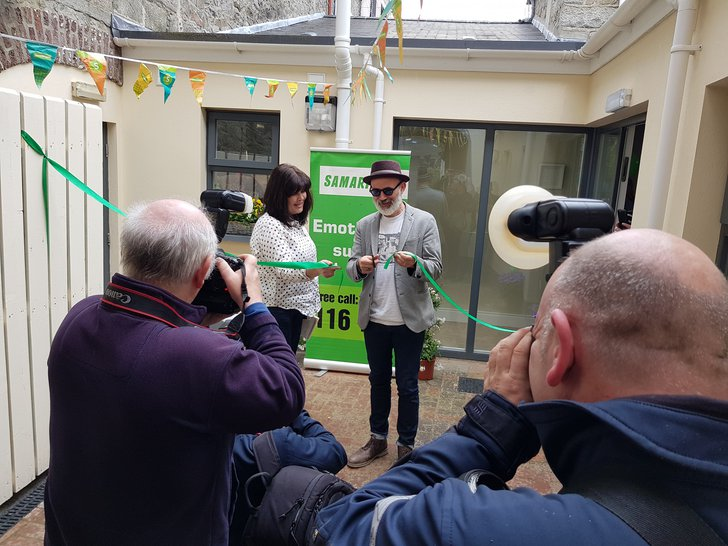 Tommy Tiernan of Derry Girls opens new Newry brand of Samaritans