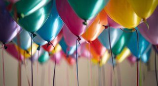 Balloons - Celebration Giving - Samaritans fundraising