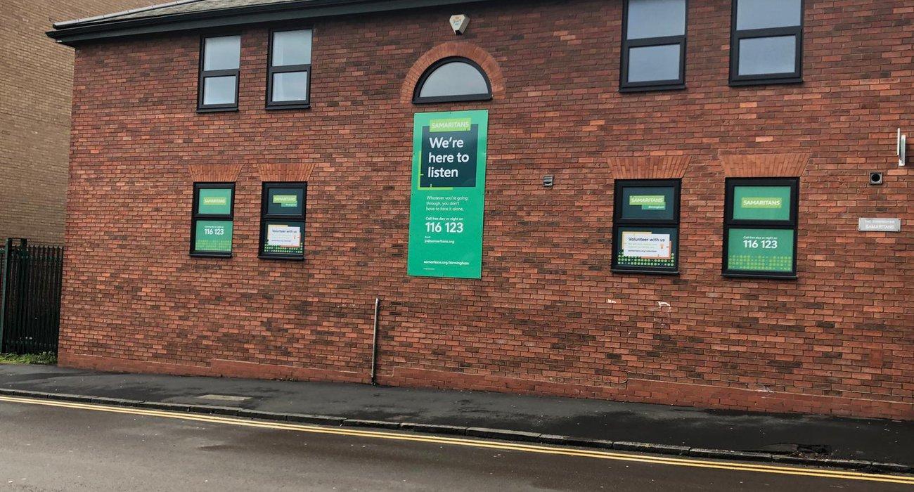 Birmingham Samaritans Branch Exterior