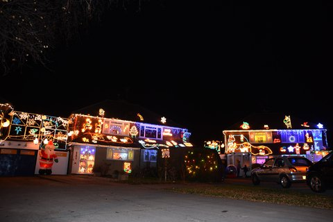 Highdown Drive Christmas Lights