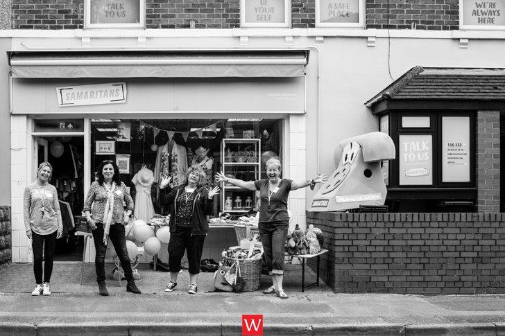 Swindon Samaritan Charity Shop reopening