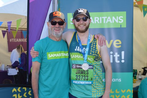James Manchester Marathon 2019 portrait