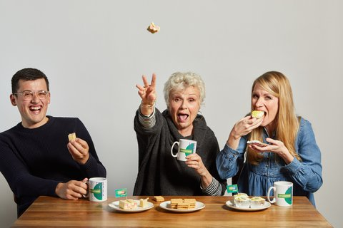 Dame Julie Walters, Rachel Parris and Michael Chakraverty support Samaritans Brew Monday (2).jpg
