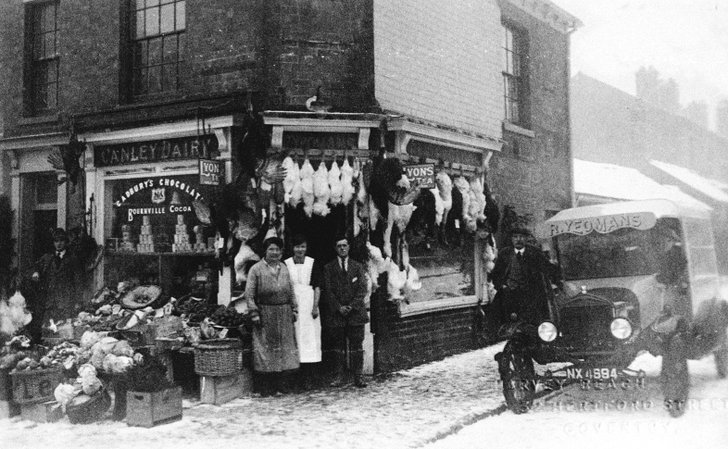 Coventry Charity Shop in days gone by