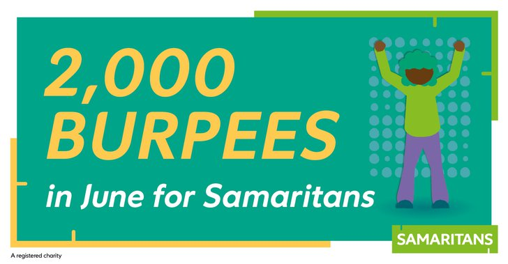 2,000 Burpees in June - cover photo