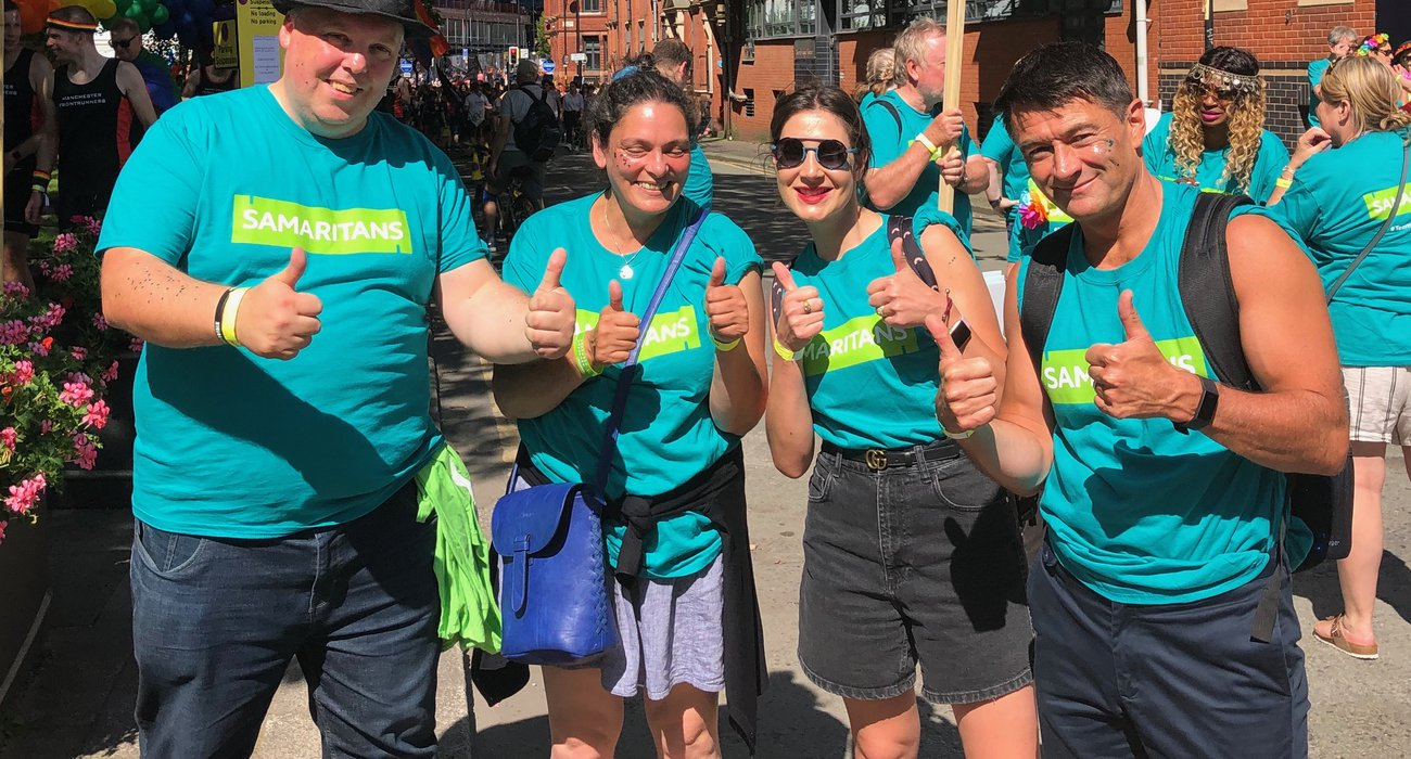 Alan, Kath, Kathryn, and Dale - thumbs up