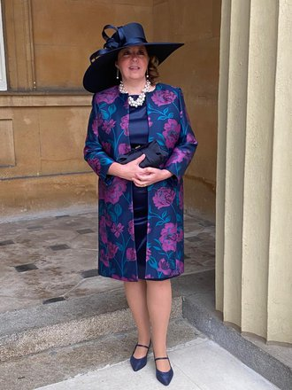 Ruth, Samaritans CEO, prior to receiving her CBE