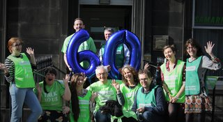 Volunteers celebrate 60 years of listening