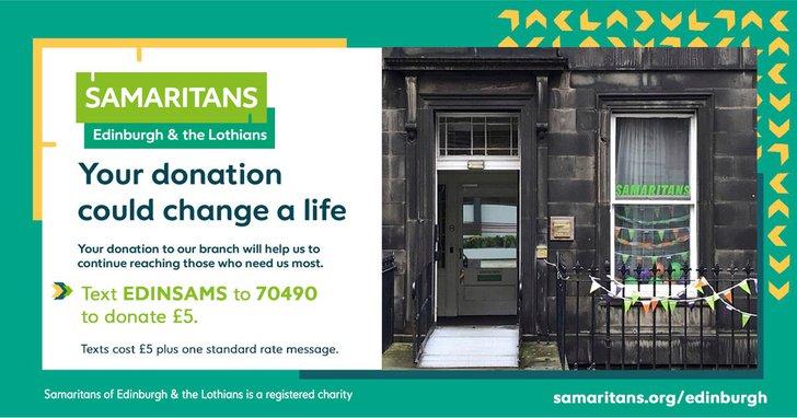 One off text donation to Edinburgh Sams.jpg