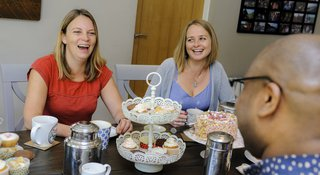 Brew Monday tea party raising money for Samaritans
