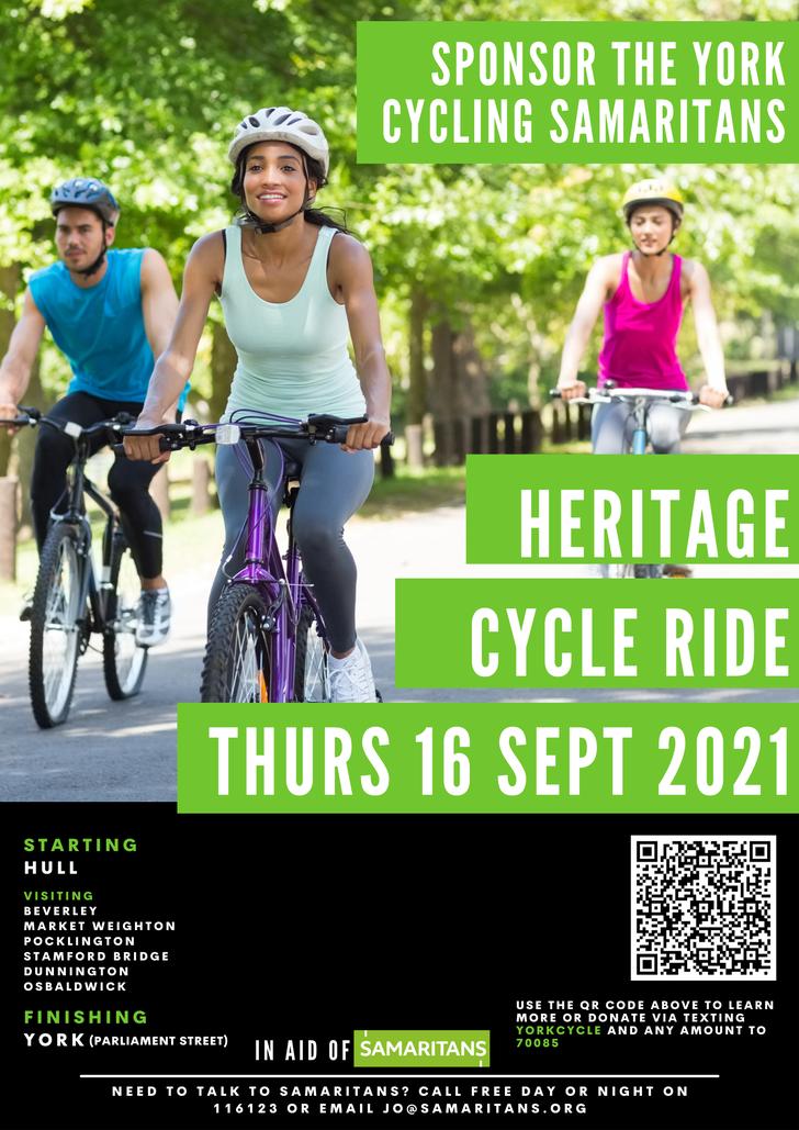 Samaritans Heritage Ride 2021
