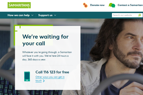 Samaritans website homepage.png