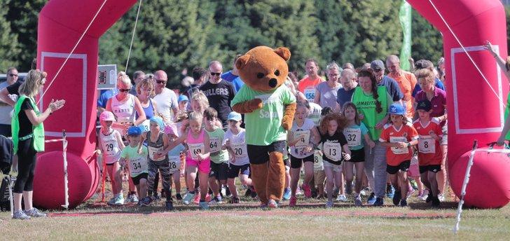 Teddy Bear kids run