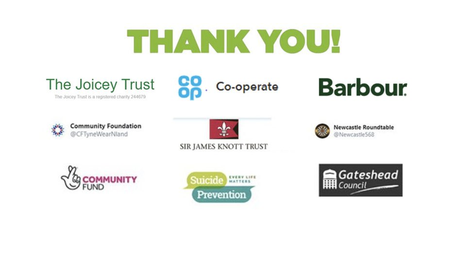 New Thank You Samaritans Newcastle Homepage