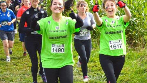 Samaritans runners mid run