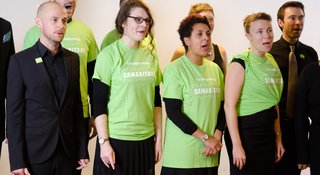 Sing for Samaritans in your workplace